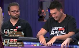 Deseando ver la camiseta de Polk en PokerGo