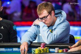 La pose favorita de Dyer (Pokernews)