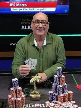 Emilio Molina, ganador de la 3.ª etapa de las JPS