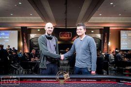 Los dos finalistas (Foto: Pokernews)