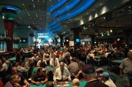La poker room del Foxwoods