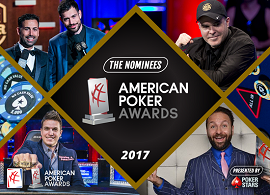 Los nominados para los American Poker Awards
