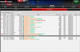 PokerStars ya muestra el programa de las HR Series