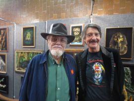 Hughes, a la izquierda (Foto: Velveteria)