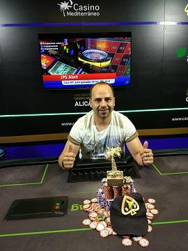 Jose María Jaén, ganador de la 4.ª etapa de las JP