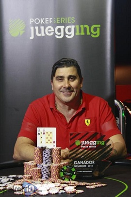 José Molero, ganador de la 9.ª etapa de las JPS18