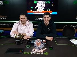 García y Fernández pactaron en el HU final