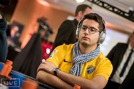 Juan Pardo, en Barcelona [Foto: PartyPoker]