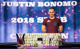 Justin Bonomo, con su montaña de billetes [PNews]
