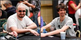 Bryn Kenney y Sergi Reixach [Fotos: PokerStars]