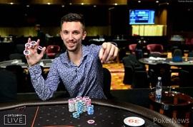 David Laka, en Sochi [Foto: PokerNews]