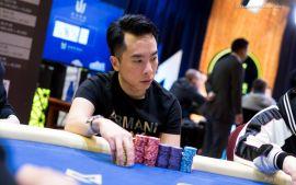 El chipleader, Leong (Foto: Pokernews)