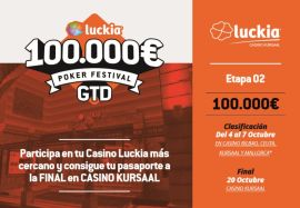 2ª etapa del Luckia Poker Festival