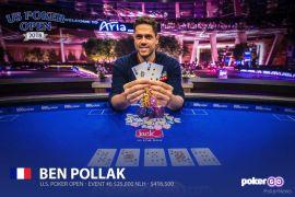 Ben Pollak, el anti-Chidwick (Foto: Pokernews)