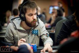 Dominik Nitsche, cerca del líder (Foto: Pokernews)