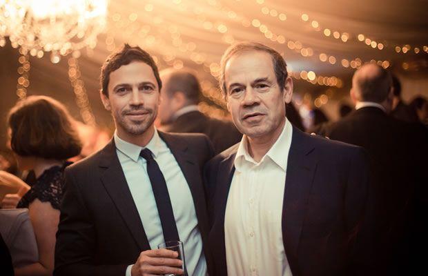 Isai y su hijo Mark, en 2013. OPR