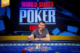 Jack Sinclair, campeón de las WSOPE. Pokernews