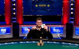 Nick Petrangelo, con su 2.º brazalete [WSOP-PNews]