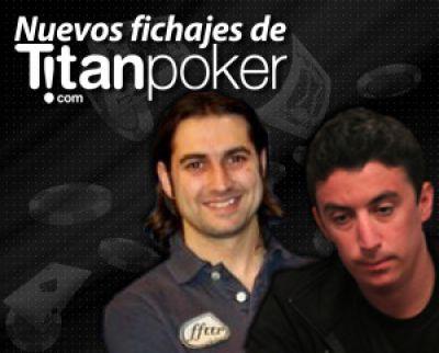 Nuevos fichajes de Titan Poker