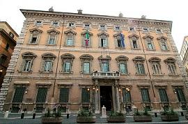 Palazzo Madama, sede del Senado [Wikipedia]
