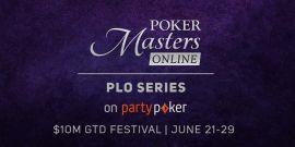 Poker Masters PLO, del 21 al 29 de junio