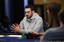 Vicent en Bahamas, en 2019. Pokerstars