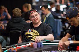 Un poco bocachancla, Talbot (Foto: Pokerstars)