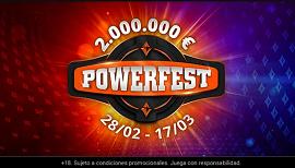 Se acerca el Powerfest de PartyPoker .fres