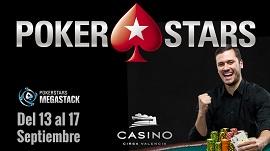 Llega el PokerStars MegaStack Valencia