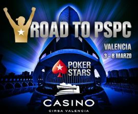 Road to PSPC en el Casino de Valencia