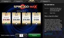 Lobby de los Spin&Go Max
