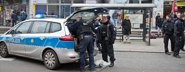 La policía alemana, en acción [Foto: PokerTube]