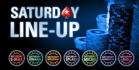 Logo del Saturday Line-Up