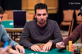 Sergio, en las WSOP [Foto: Joe Giron]
