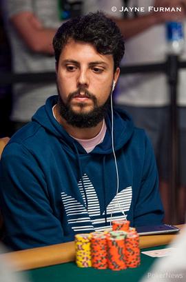 Sergio Cabrera [Foto: WSOP-PokerNews]