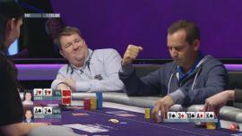 Sergio García, ganándole la mano a Moneymaker