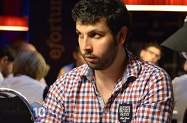 Antón Soñora, en las Juegging Poker Series