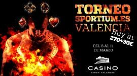 Torneo Sportium.es de Casino Cirsa Valencia
