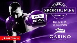 Vuelve el Torneo Sportium al Casino Cirsa Valencia