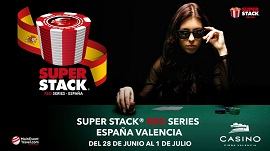 Super Stack Red Series en Casino Cirsa Valencia