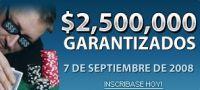 2 500 000 ponen juego titan poker