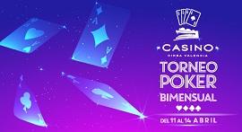 Llega el Torneo Bimensual de Casino Cirsa Valencia