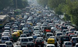 ¿Pedías tráfico? Toma tráfico