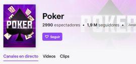 Poker en Twitch