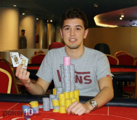 Vicente Delgado, ganador del PokWear Coruña