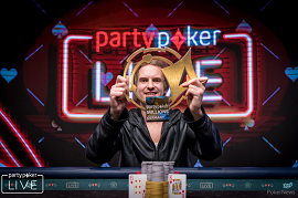 Viktor Blom Isildur1 [Foto: PokerNews-PartyPoker]