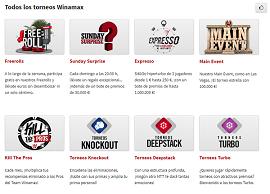 Los torneos de Winamax