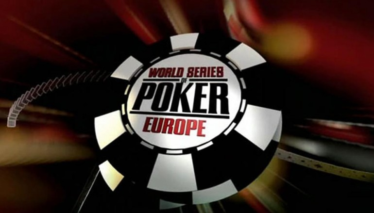 10 ediciones de World Series of Poker Europe